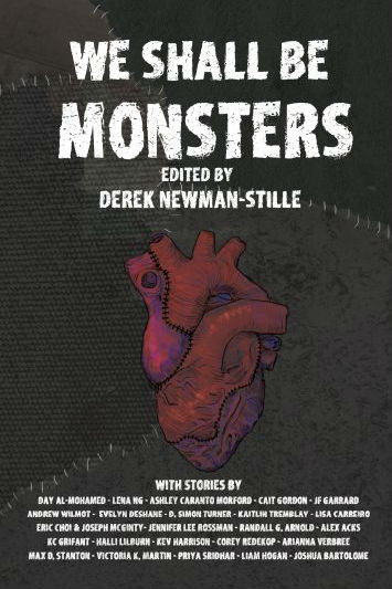 We Shall Be Monsters book cover
