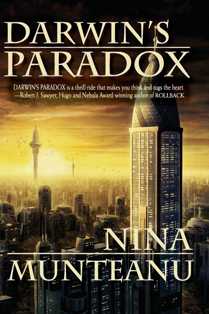 Cover for the book Darwin's Paradox by Nina Munteanu